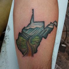 Pin for Later: 50 States of Tattoos: Ink Ideas From Every Corner of America West Virginia