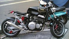 Image result for triumph sprint 900 cafe racer