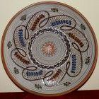 Farfurie ceramica de Horezu, calitatea I (15) Decorative Plates, Traditional, Tableware, Home Decor, Dinnerware, Decoration Home, Room Decor, Tablewares, Dishes