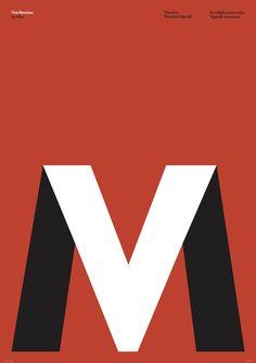 1425399499 En hommage à la vie et l'œuvre du designer italien Massimo Vignelli, mort en 2014, Alain Villastrigo et Ernesto Arnaez graphistes du studio basque Husmee ont sollicité graphistes et designers du monde entier le temps d'une exposition exceptionnelle.