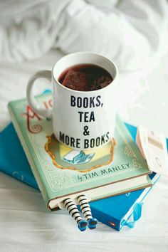 Books, tea, and more books
