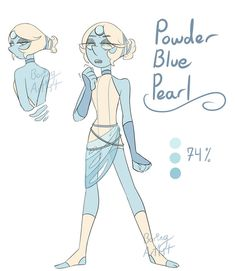 Steven Universe Characters, Pearl Steven Universe, Su Game, Dragon Sketch, Art Inspiration Drawing, Pearl Design, Best Fan, My Doodle, Blue Pearl