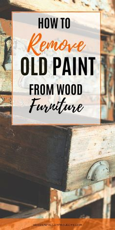 Check this beginners guide on removing paint from wood and wooden furniture. Helpful tips and tricks to  safely get rid of old paint from wood furniture. Removing paint from wood without a sander or without chemicals. Plus advice on removing dried oil based paint or water based paint stains as well. Sanding Furniture, Spray Paint Furniture, Wooden Furniture, Upcycled Furniture, Furniture Ideas, Furniture Hardware, Sanding Tips, Sanding Wood, Spray Paint Remover