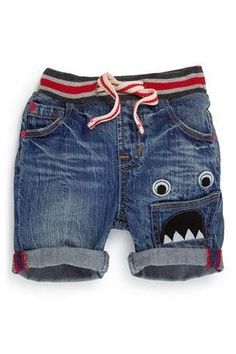 Boys Clothing Online - 3 months to 6 years - Next Monster Shorts - EziBuy New Zealand Cute Outfits For Kids, Baby Boy Outfits, Toddler Boy Fashion, Kids Fashion, Luxury Kids Clothes, Short Niña, Boys Pants, Kids Wear, Couture