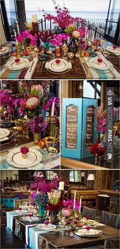tropical wedding decor   VIA #WEDDINGPINS.NET