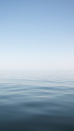 Nature-Calm-Ocean-Skyline-Landscape-iPhone-6-wallpaper.