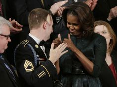Obama Uses Army Ranger As Prop During Speech, But Cuts Military Healthcare And Pension Benefits   Weasel Zippers