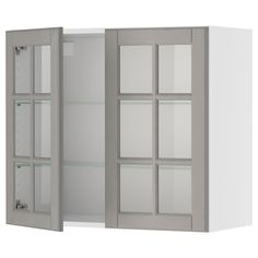 Best 215 30 X 30 Glass Front Wall Cabinet Akurum Wall 640 x 480