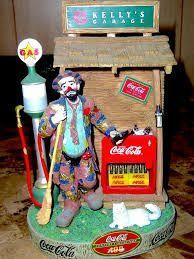 Image result for emmett kelly jr coca cola figurines