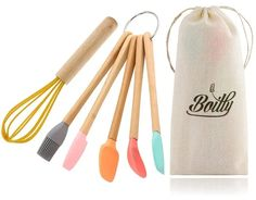 Ten Amazing Bamboo Kitchen Tools You Simply Must Have Kitchen Rack, Kitchen Tools, Kitchen Gadgets, Utensil Holder, Utensil Set, Wooden Fork, Cooking Utensils Set, Spice Containers, Wooden Kitchen
