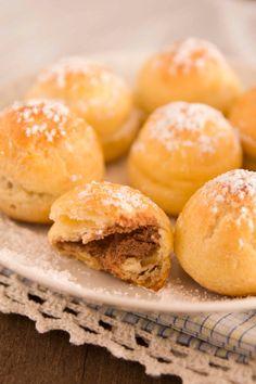 Muffin Galaxy: PROFITEROLES RELLENOS DE TRUFA DE CHOCOLATE