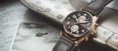 The new Pilot's Watch Chronograph Edition Antoine de Saint-Exupery in 18 ct red gold! Damn that's nice!