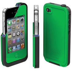 iPhone 4/4s Green  #Lifeproof  #Green