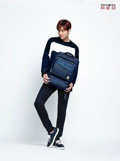 SAMSONITE RED F/W 2015 Ads Feat. Lee Min Ho | Couch Kimchi