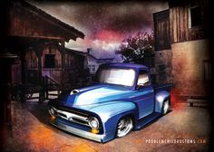 Much like a feature film, it all started with a concept, then some sketching, and moved into production. Own a Hollywood matte painting, hot rod design and one-off piece of graphic art, all rolled into one richly-detailed piece! 18x24-inches, 80lb. coated cover stock, ready to frame! Holiday sale on now, just $18.00 + shipping!