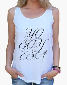 Camiseta chica Yo Soy Esa
