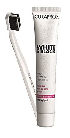 Curaprox White Is Black 90ml  Toothbrush Ultra Soft * More info could be found at the image url.