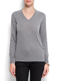 Cashmere silk sweater basic