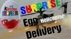 Surprise Egg Disney Minions Helicopter delivery