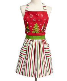 Take a look at this Snow Fun Holiday Apron - Adult by Design Imports on #zulily today!
