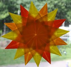 Make this to bring a little brightness into the den.
