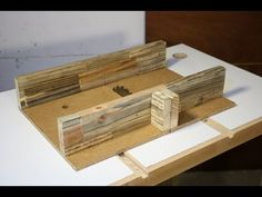 Homemade Table Saw – 3: Crosscut Sled from Reclaimed Wood - YouTube
