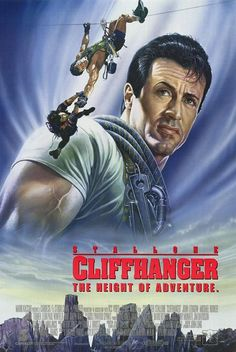 Directed by Renny Harlin. With Sylvester Stallone, John Lithgow, Michael Rooker, Janine Turner. A botched mid-air heist results in suitcases full of cash being searched for by various groups throughout the Rocky Mountains. Films Cinema, Cinema Posters, Film Posters, Best Movie Posters, Sylvester Stallone, Old Movies, Great Movies, Love Movie, Movie Tv