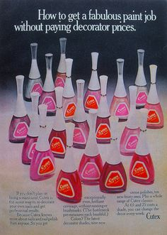 Cutex Nail Polish - totally 70's!