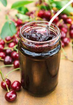 ◅ [GET]◕ Sour Cherry Jam Berry Breakfast Cherry Cherry Jam Cherry Jelly Delicious Fresh Herbs, Fresh Fruit, Food Fresh, Sour Cherry Jam, Pumpkin Jam, Fresh Broccoli, Tasty, Yummy Food, Cherry Tomatoes