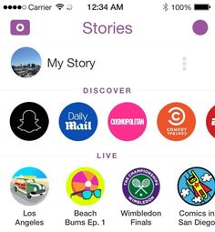 How to Hide Snapchat Discover section and Live events - Snapchat Updates