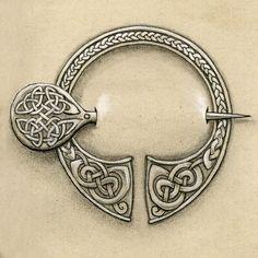 Celtic Broach Tattoo