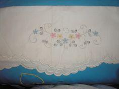 Sabanas bordadas para bebé - Imagui