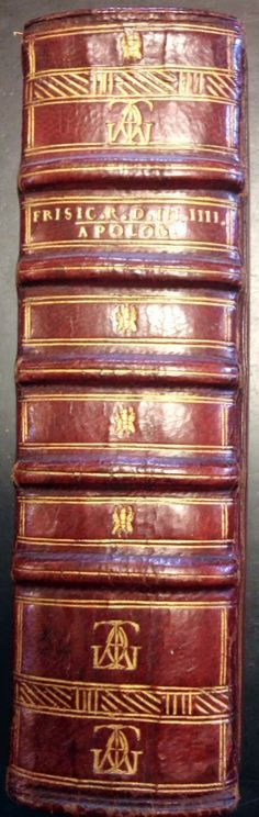 This binding is from the famous collection of Jacques-Auguste de Thou.  Houghton Library, Harvard University.