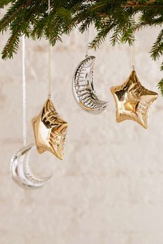 Moon And Star Balloon Ornament - Urban Outfitters