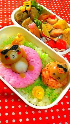 (1485) summer vacation bento | Adorable food | Pinterest | Bento, Rilakkuma and Vacations