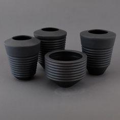 Tiny Pots. Wheel thrown mid fired clay.  #ceramic #ceramics #contemporaryceramics #ceramicart #handmade #contemporaryart #pottery #clay #artist #maker #craftsmanship #auckland