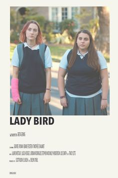 lady bird by priya Iconic Movie Posters, Minimal Movie Posters, Minimal Poster, Original Movie Posters, Movie Poster Art, Poster S, Iconic Movies, Poster Wall, Cool Posters