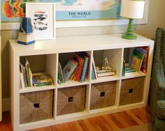 Ikea Expedit bookcase - getting a few of these very soon for the playroom!