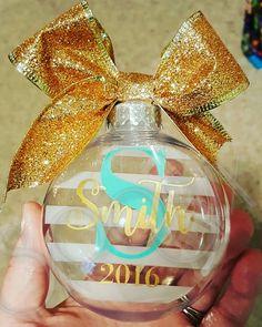 Cricut Christmas Ideas, Christmas Bulbs, Perfume Bottles, Holiday Decor, Fun, Home Decor, Decoration Home, Christmas Light Bulbs, Room Decor