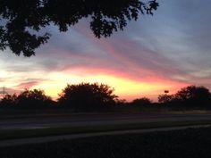 Sunset of a warm-summer day (by Daya Reyes / Grand Prairie TX,  Jul'14).