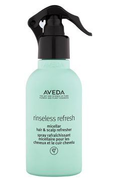 Free shipping and returns on Aveda Rinseless Refresh Micellar Hair & Scalp Refresher at Nordstrom.com. What it is: A no-rinse micellar refresher that instantly cleanses your scalp and refreshes hair and texture and revives second-day styles, too.Who it's for: Suitable for all hair and scalp types.What it does: It revives with naturally derived styling polymers that help tame frizz for up to 72 hours, even in intense humidity. It