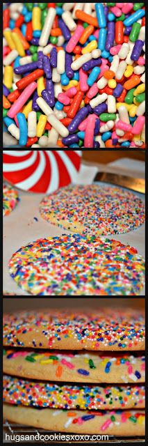 BETTER THAN A BAKERY - SPRINKLE COOKIES
