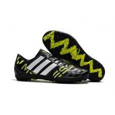 New Adidas Nemeziz TF Football Boots Black White Green,buy new cheap Adidas football boots online sale. Cheap Soccer Cleats, Nike Soccer Shoes, Soccer Boots, Football Shoes, Adidas Sneakers, Messi, Neymar, Adidas Samba, Yeezy