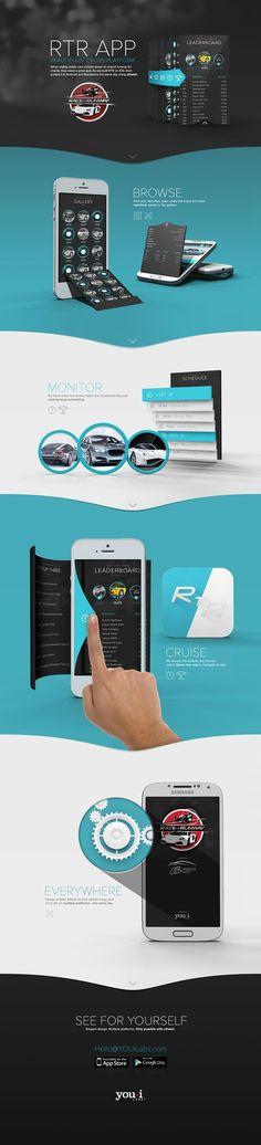 App design inspiration 25 présentations originales pour des web design en full-page | Blog du Webdesign