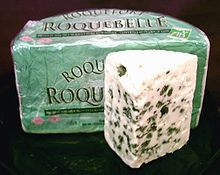 Roquefort cheese: According to a 2012 study, blue cheese like Roquefort contain anti-inflammatory compounds. A study from 2013 found that proteins from Roquefort cheese inhibit Chlamydia propagation and LPS (Lipopolysaccharide) leukocyte migration. Kinds Of Cheese, Meat And Cheese, Wine Cheese, Stilton Cheese, Epoisses, Branston Pickle, Queso Cheese, Thin Crust Pizza, Gourmet