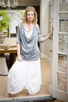 Linen skirt maxi