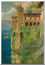 ITALIA Viaggi POSTER TELA Wrap 20x14 pollici 504