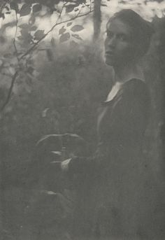 Clarence H. White. Edge of the Woods. 1901 | MoMA