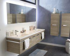 Castorama meuble de salle de bains calao une salle de bains propice la d - Etagere salle de bain castorama ...