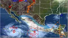 Alerta en el Pacífico mexicano por las tormentas tropicales Elida y Douglas - http://www.leanoticias.com/2014/07/02/alerta-en-el-pacifico-mexicano-por-las-tormentas-tropicales-elida-y-douglas/
